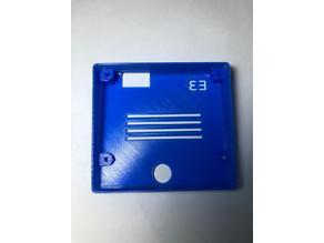 Ender 3 display rear cover (Factory Screws)