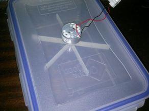 Air mixer (for cold acetone vapor bath)