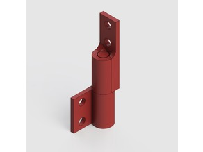 Removable Right Angle Hinge