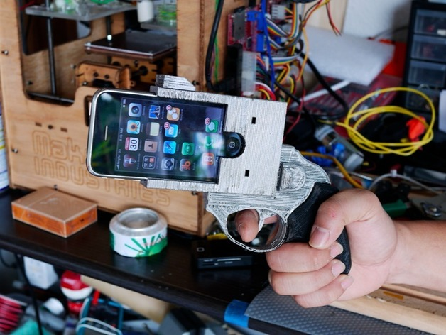 Revolver iPhone by juniortan