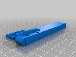 X Axes Belt Grabber Vise Tool