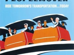 WEDway PeopleMover (Original Disneyland version)