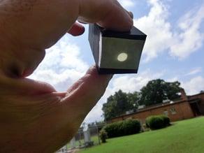 Solar aiming device
