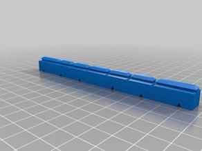 maker beam - piano hinge mount