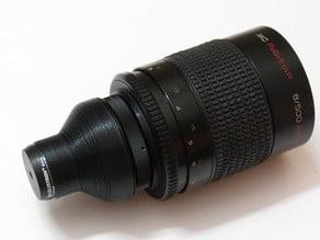 SLR Lens eyepiece adapter (Pentax-PK)