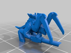 Epic Scale Carnifex Proxy - low poly