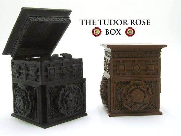 the tudor rose box with secret lock by loubie thingiverse