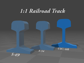 1:1 Railroad Track ( UIC-60 )