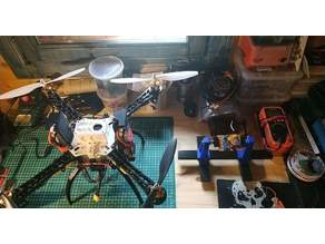 The Black Pearl - A 3D Printed RC FPV Video Quadcopter