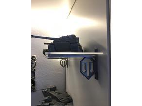 Shelf bracket World of Tanks w/o screws