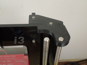 Customized Z axis upper holder for Geeetech Prusa i3