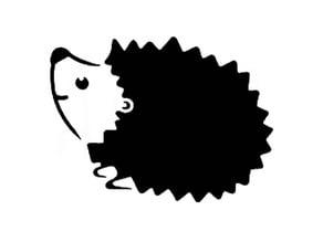 Hedgehog stencil