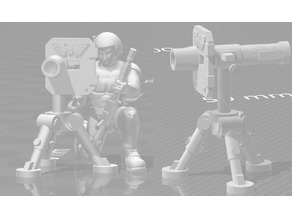 Portable Missile Launcher - Heavy Weapons Squad - WH40k