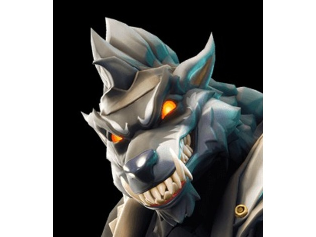Dire Wolf Mask Fortnite By Rubaxx Thingiverse