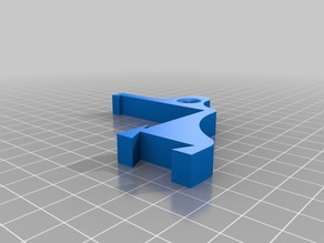 Anycubic i3 Mega / LED holder + bowden holder for filament