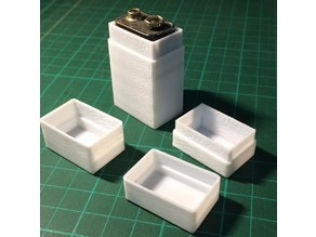 Box and Lid with customizable internal size