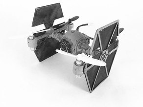 Tie Fighter Body for Hubsan X4 H107L