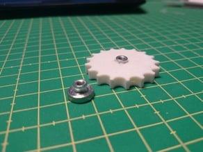 Malyan / Freesculpt -- Bed screw enlarger