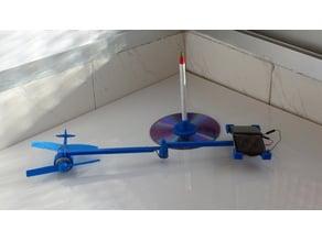 avión solar (solar plane)