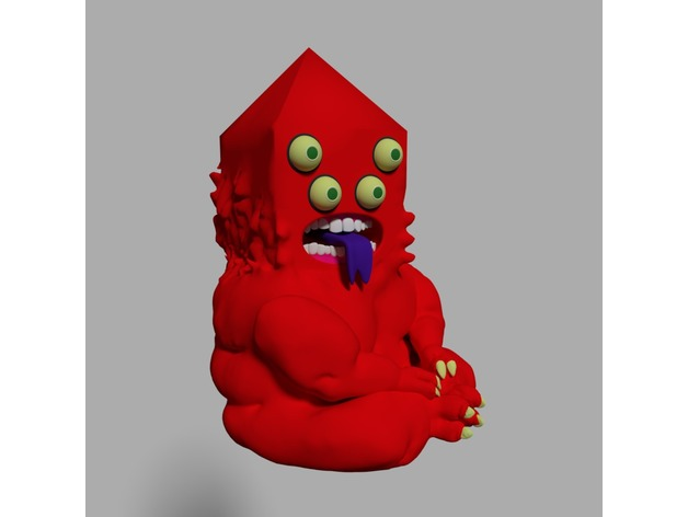 Adventure Time Golb By Geck Thingiverse