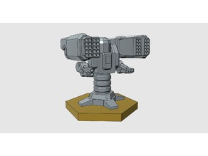 Battletech Calliope Turret - 6mm scale