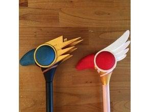 Cardcaptor Sakura wands