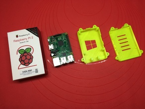 Safe and Secure Raspberry Pi 2 B Case