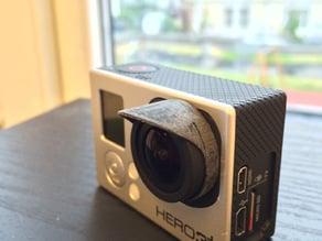 Superlight highres GoPro Hero 3 lens hood
