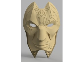Jhin Mask (League of Legends)