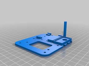Top plate for quadcopter