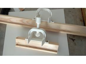 Adjustable fixing for easel painting