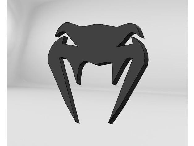 venum logo by robins0n thingiverse
