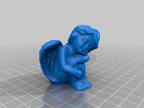 Sleeping Angel - 3D Scan