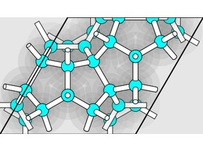Clathrate hydrate structure type 4.