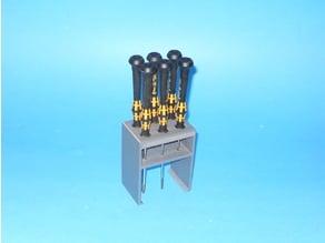 Wera Electronics Screwdriver Rack