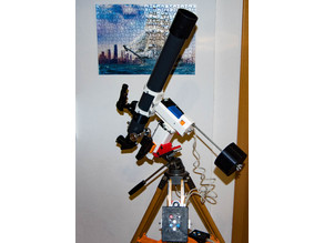 EQ telescope mount II. for OnStep goto controller