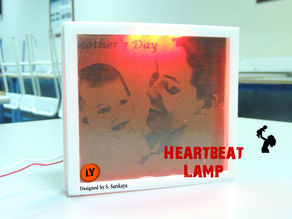 HEARTBEAT LAMP - MOTHER'S  DAY GIFT