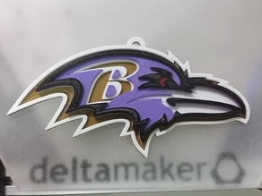 Baltimore Ravens Wall Hanger