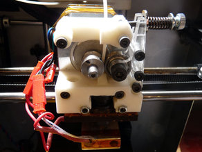 Solidoodle 'Jigsaw' Extruder Replacement mk2