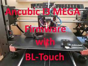 Anycubic Firmware with BLTouch