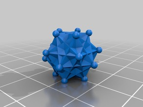 Dual material dodecahedron
