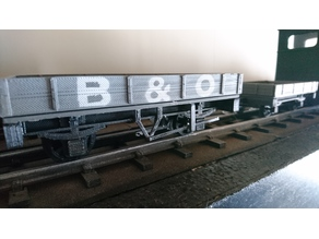 Manual Brakes for Garden Rail wagon series