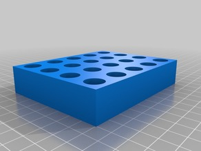 6mm BR Bench rest shooting tray 5x4