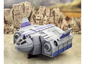 TA12 troop transport - intact and wrecked