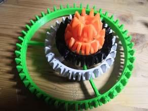 Lego Bionicle Wheels