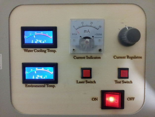 K40 China Laser Control Panel By Magicwoody