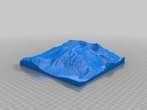 Ben Nevis 3D Terrain Model