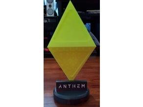 Anthem loot drop lamp