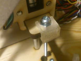 Bolt holder for Z endstop on Printrbot Jr