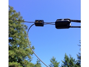 Wire Clamp for 14 gauge Antenna Wire
